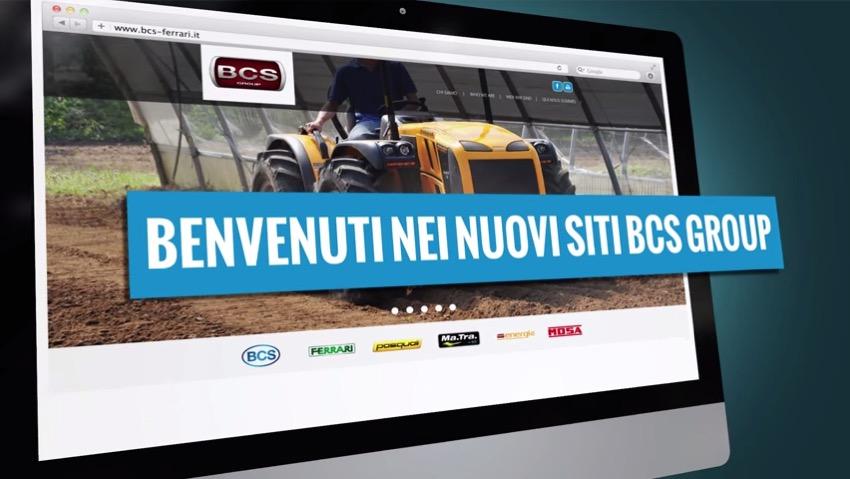 Online i nuovi siti web di BCS Group