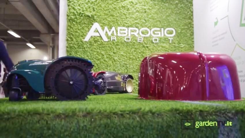 Ambrogio: il robot rasaerba per ampie superfici