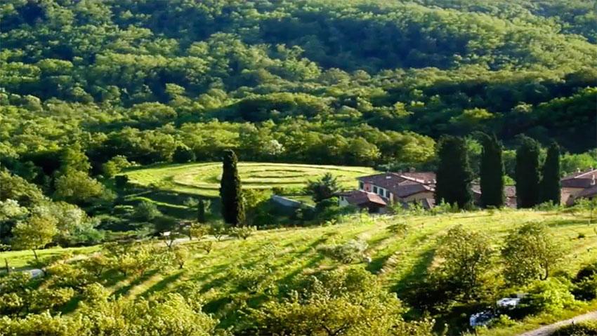 I giardini più belli d'Italia, ma anche orti e vigneti