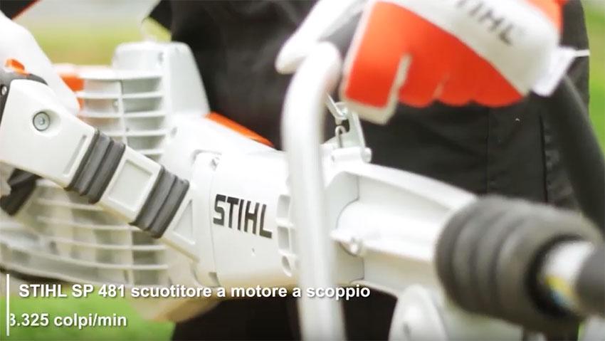 Le attrezzature Stihl per la cura dell'oliveto