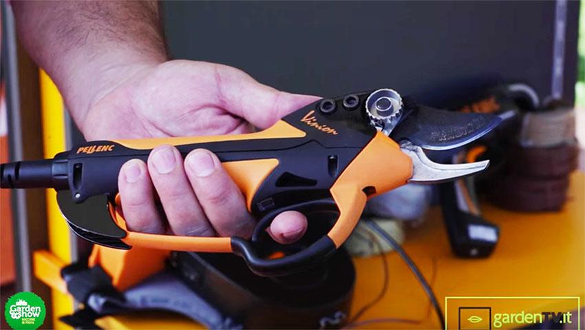 Pellenc presenta le nuove forbici a batteria