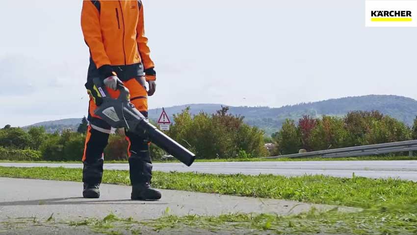 Kärcher: macchine per la manutenzione del verde