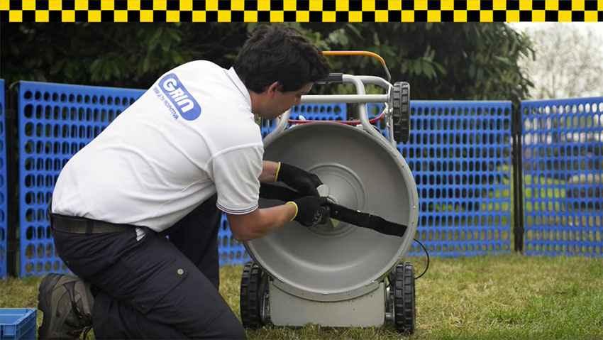 Come funziona il cono salvamotore Grin