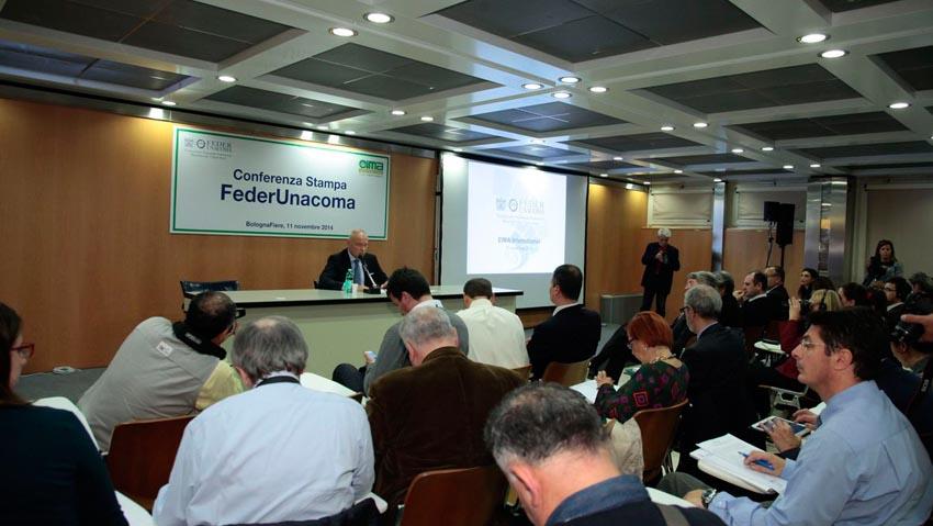 Assemblea e conferenza tampa FederUnacoma