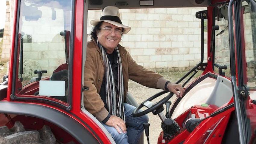 I trattori del sole, i trattori di Al Bano