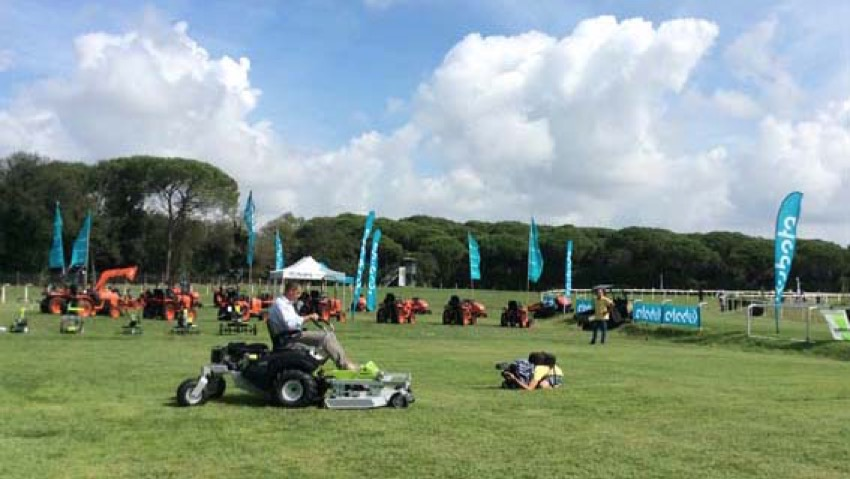 Demogarden 2014: prove in campo di motocoltura