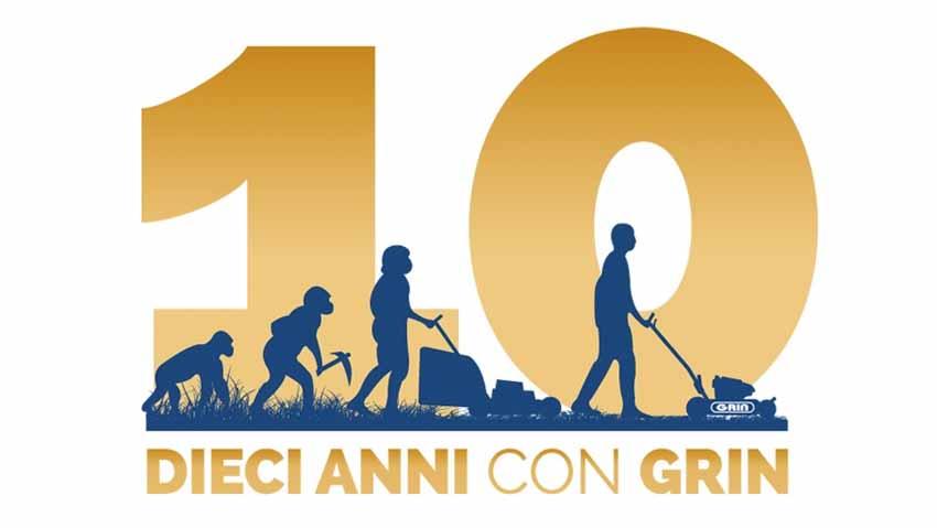 Grin festeggia i primi 10 anni di attività