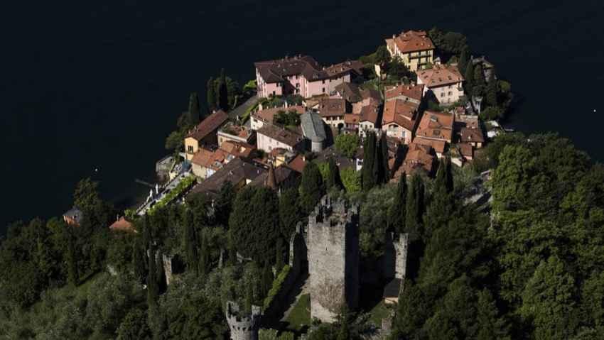Il lago di Como visto da Yann Arthus-Bertrand