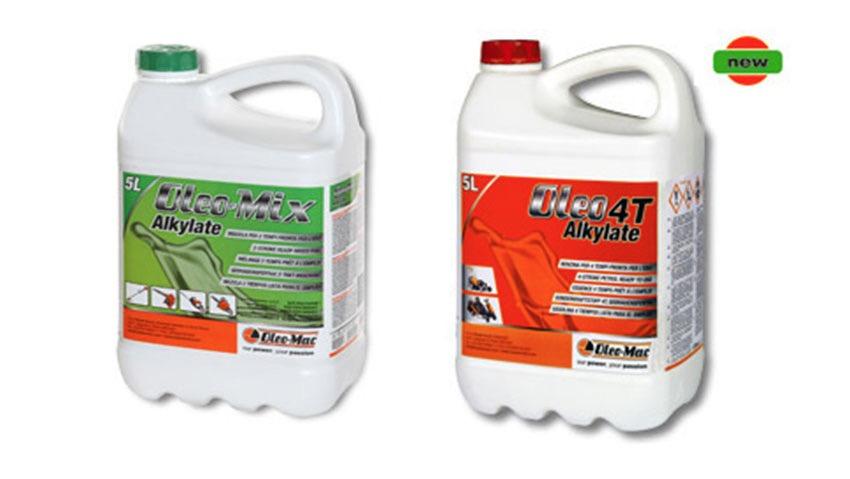Alkilata Oleo 4T, la benzina per motori a quattro tempi