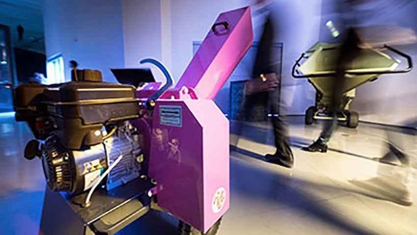 Biotrituratori in mostra al Triennale Design Museum