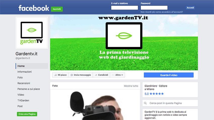 GardenTV, nati sul web per il web!