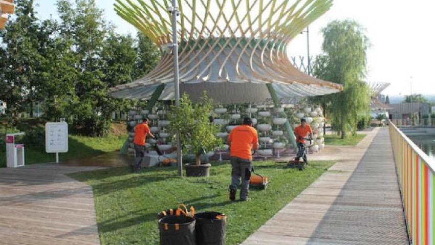 Expo Milano 2015, così vengono curati gli spazi verdi