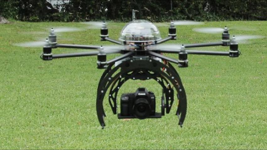 I droni in campagna per l'agricoltura di precisione