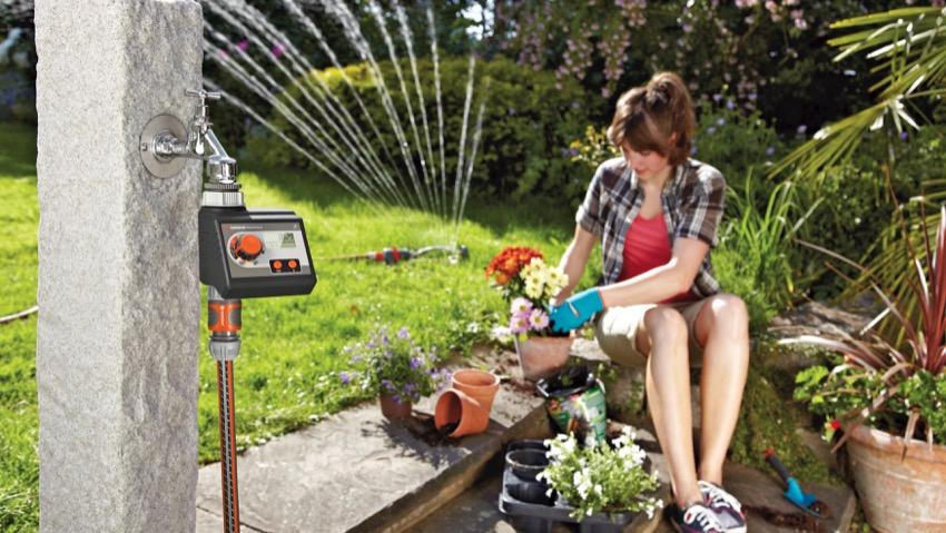 Gardena, nuovi computer per irrigazione in estate