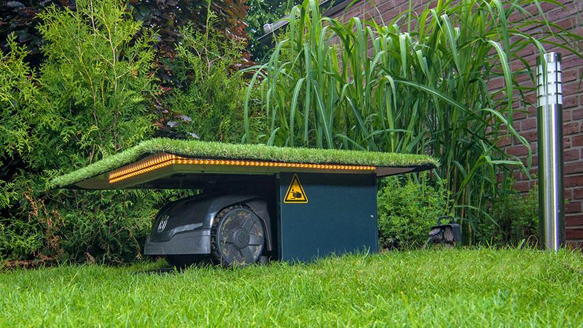 Febrolift garage sotterraneo per robot rasaerba - Garage sotterraneo ...