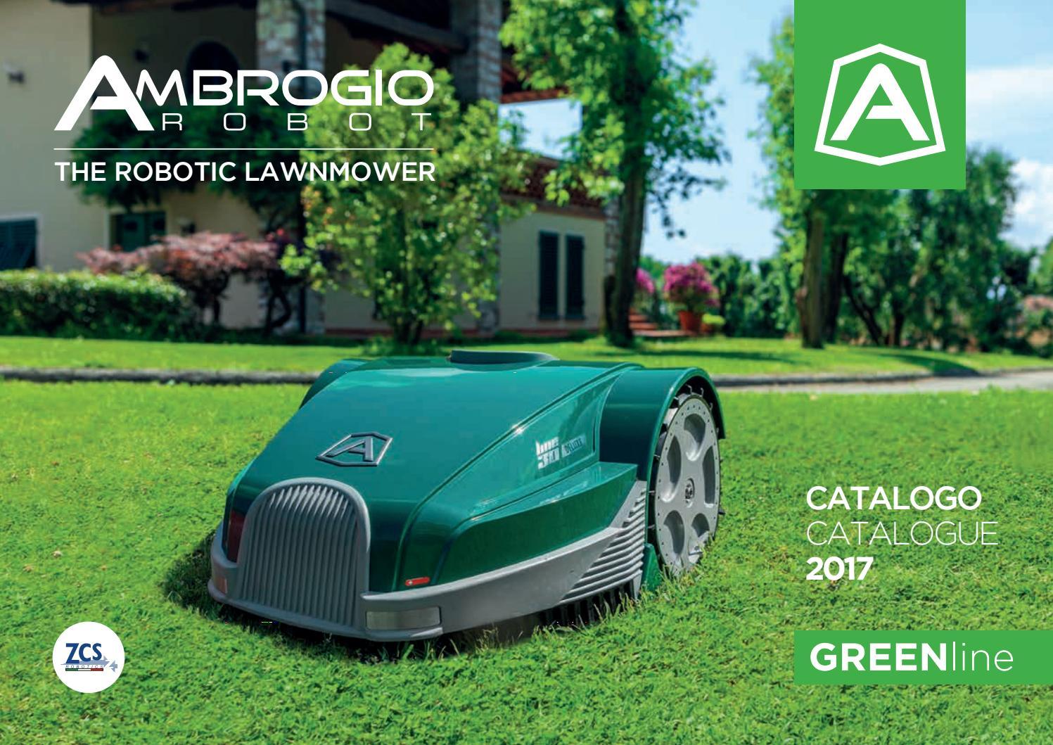Robot rasaerba - Catalogo Ambrogio Greenline