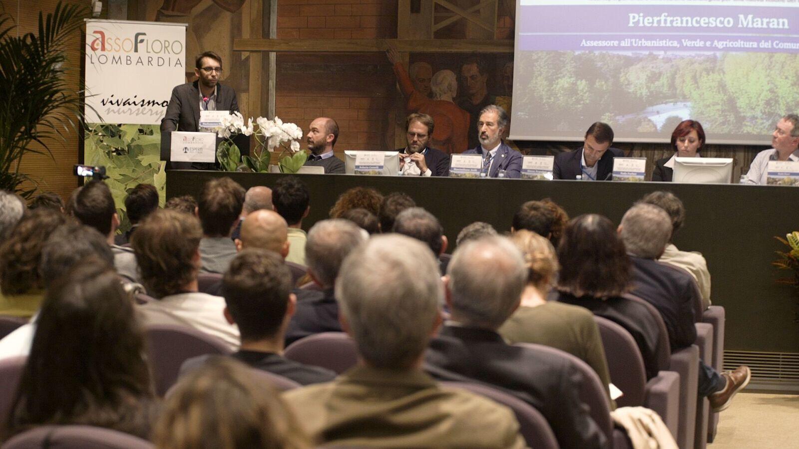 Convegno verde urbano e criminalità Milano