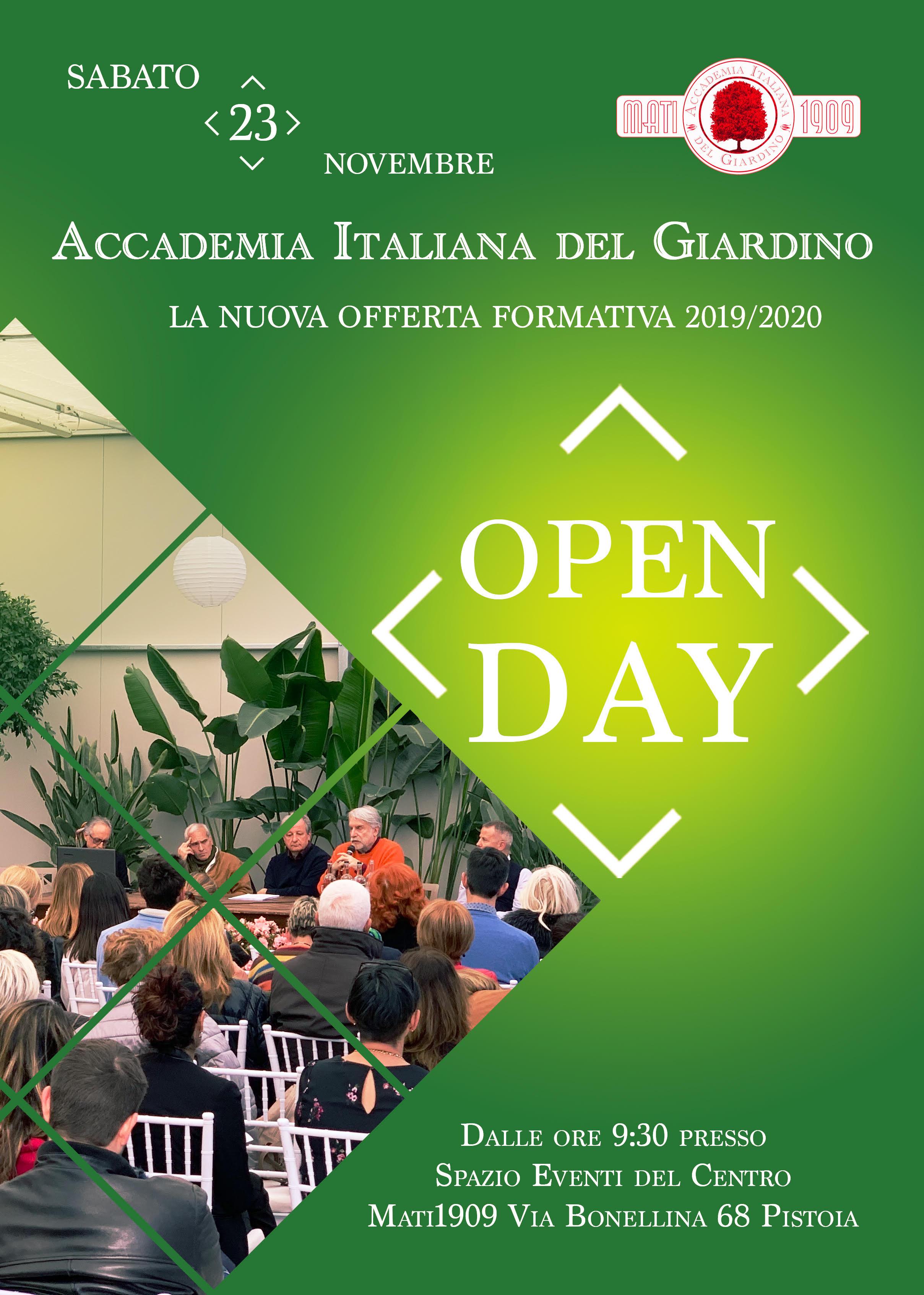Open day Accademia Italiana del Giardino